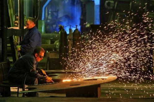 Russian steel factory 1