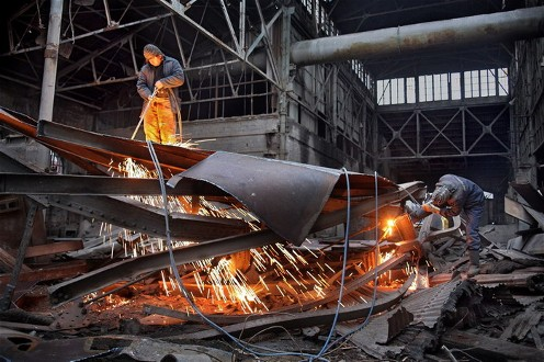 Russian steel factory 2