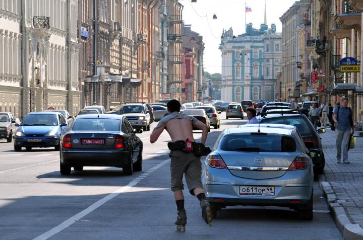 St. Petersburg's Vehicle Diversity