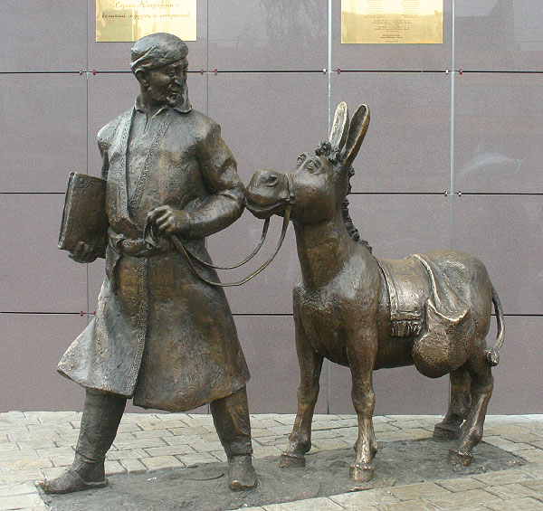 strange monuments in Moscow, Russia 1