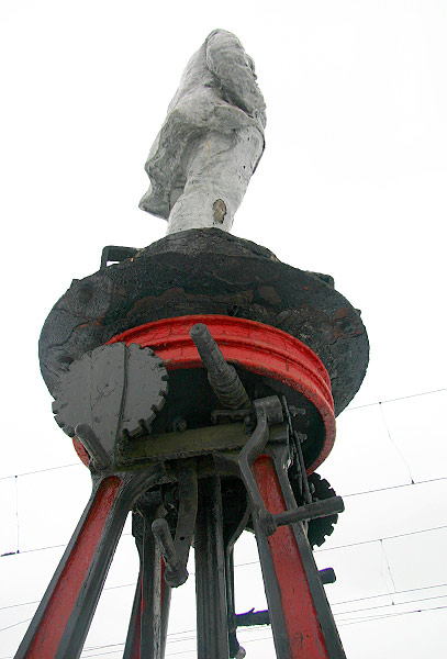 strange monuments in Moscow, Russia 7