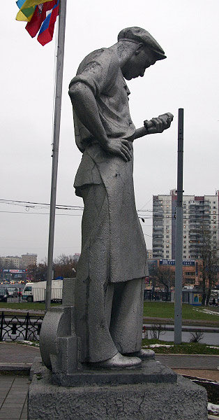 strange monuments in Moscow, Russia 8