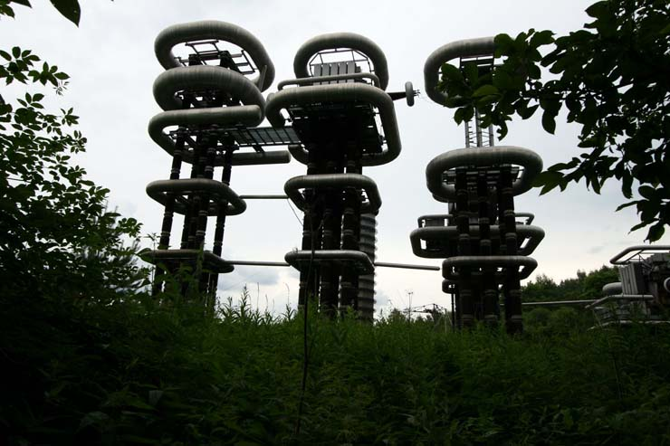 Strange structure in Russian forest 1