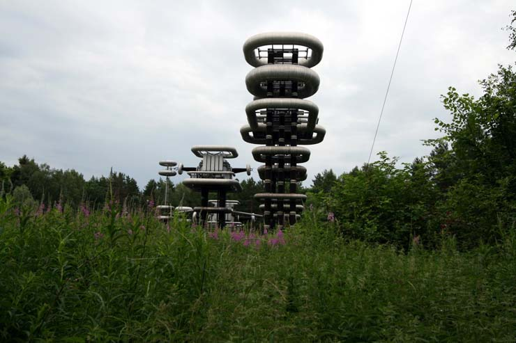 Strange structure in Russian forest 2