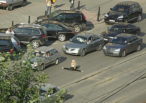 street fitness in Russia 1
