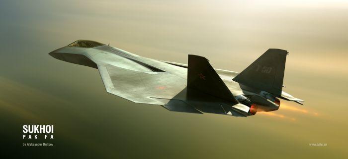 Russian stealth plane