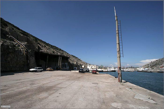 Russian Underground Submarine Base and Dock 10