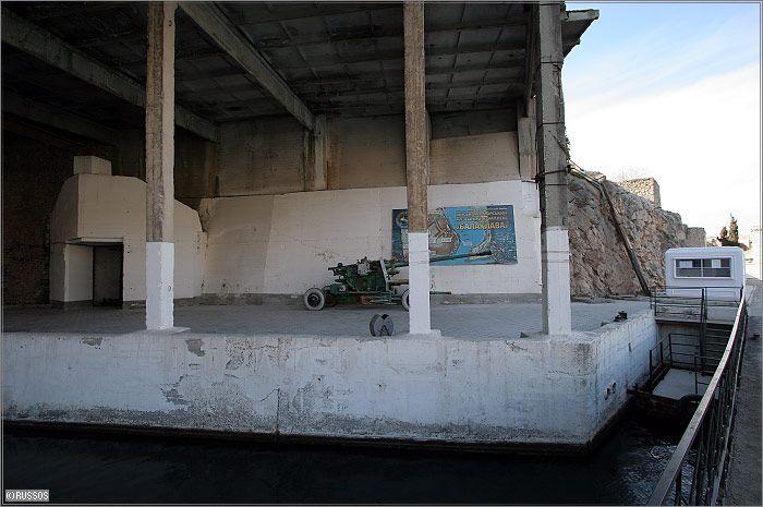 Russian Underground Submarine Base and Dock 13