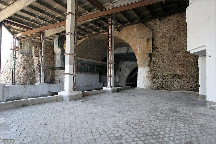 Russian Underground Submarine Base and Dock 15