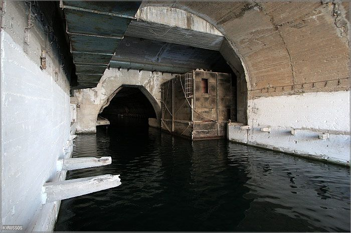 Russian Underground Submarine Base and Dock 16