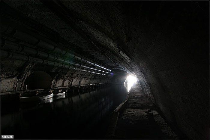 Russian Underground Submarine Base and Dock 17