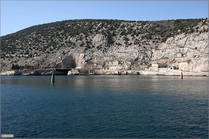 Russian Underground Submarine Base and Dock 2