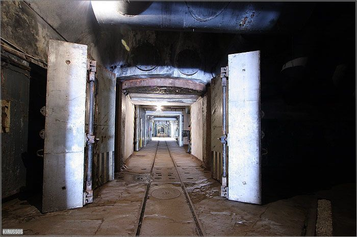 Russian Underground Submarine Base and Dock 21