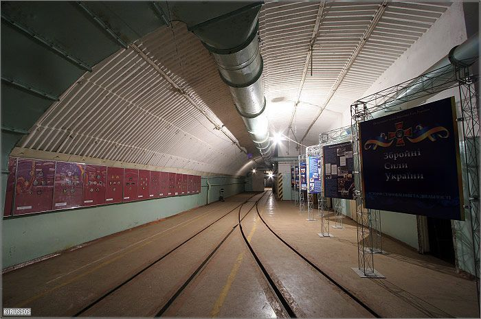 Russian Underground Submarine Base and Dock 22