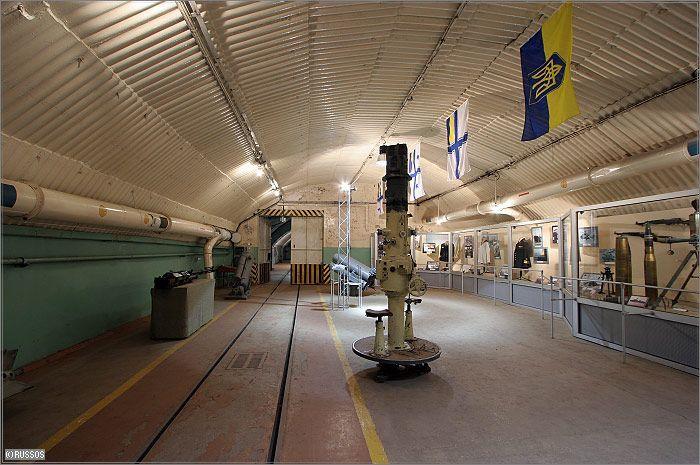 Russian Underground Submarine Base and Dock 23