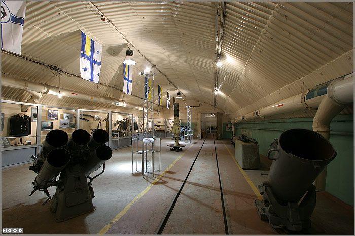 Russian Underground Submarine Base and Dock 24