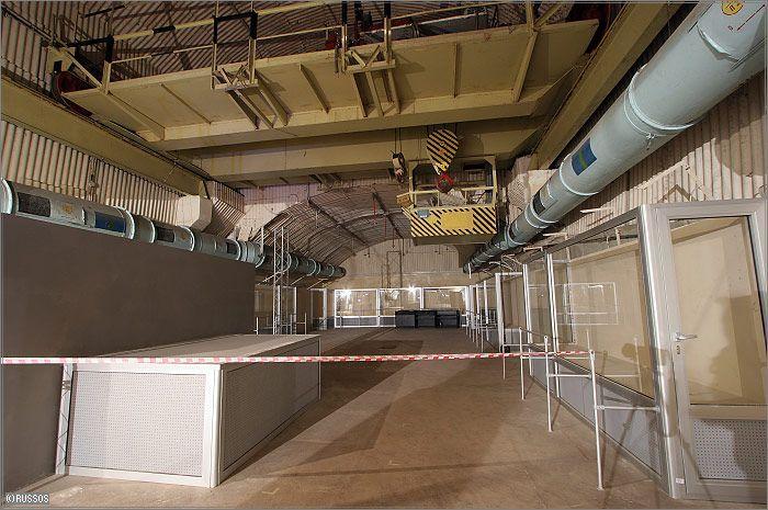 Russian Underground Submarine Base and Dock 25