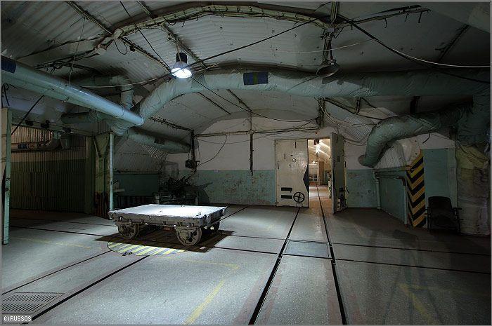 Russian Underground Submarine Base and Dock 27