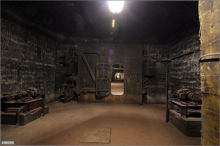 Russian Underground Submarine Base and Dock 28