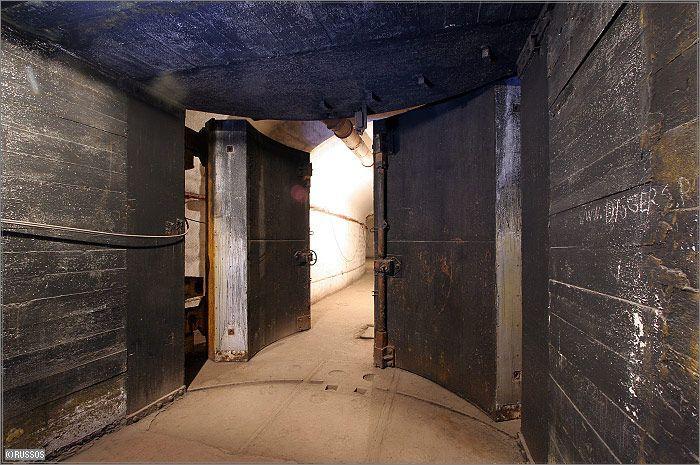 Russian Underground Submarine Base and Dock 29
