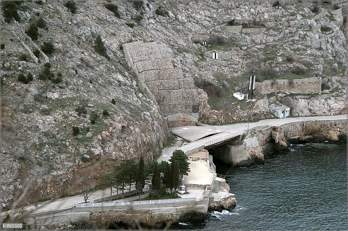Russian Underground Submarine Base and Dock 3