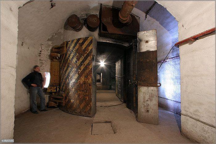 Russian Underground Submarine Base and Dock 30