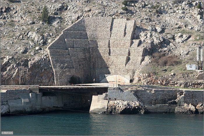 Russian Underground Submarine Base and Dock 4
