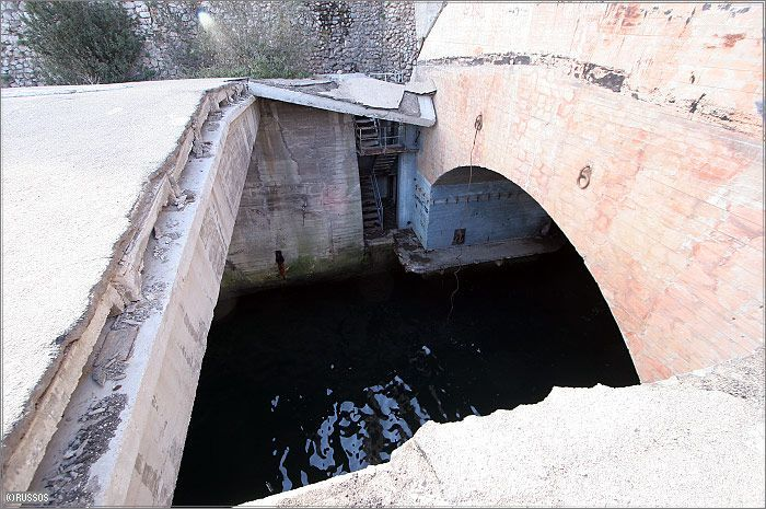 Russian Underground Submarine Base and Dock 5