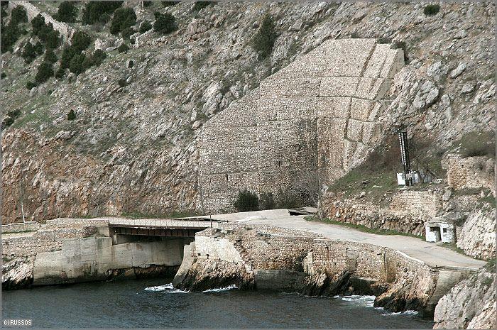 Russian Underground Submarine Base and Dock 6