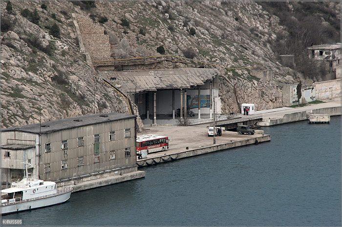 Russian Underground Submarine Base and Dock 7