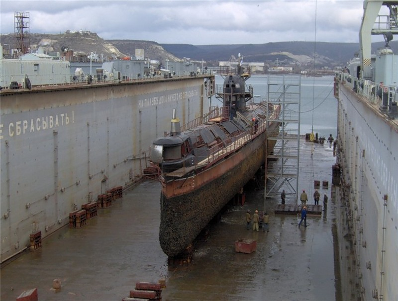 Russian submarine Ukraine 2