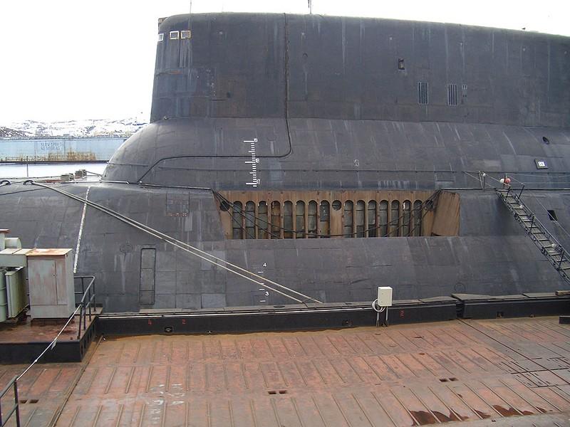 World's Biggest Submarine - Russian Submarine Typhoon 2
