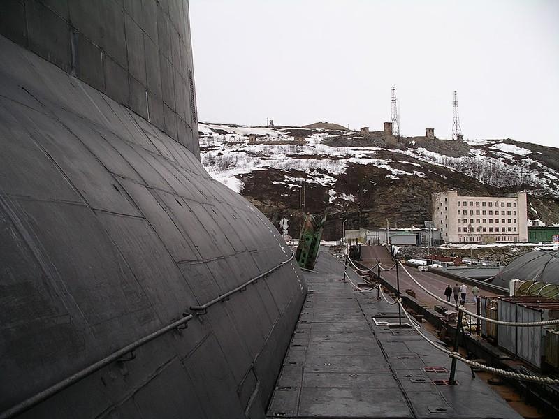 World's Biggest Submarine - Russian Submarine Typhoon 3