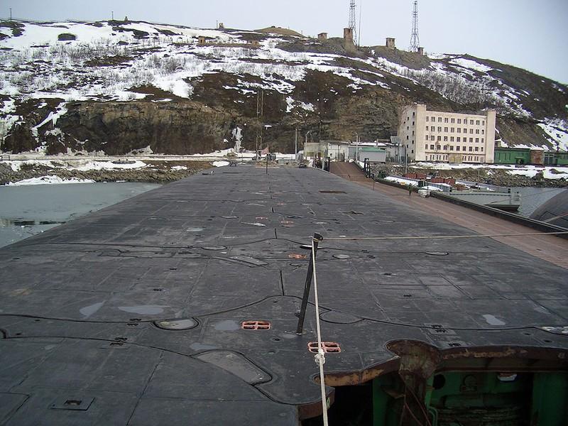 World's Biggest Submarine - Russian Submarine Typhoon 8