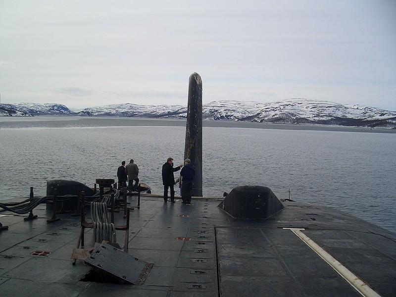 World's Biggest Submarine - Russian Submarine Typhoon 9