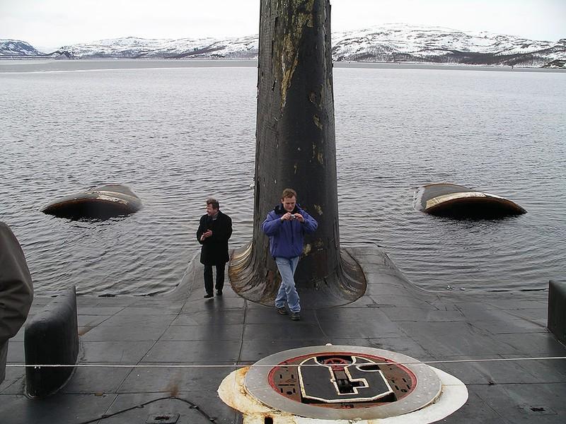 World's Biggest Submarine - Russian Submarine Typhoon 14
