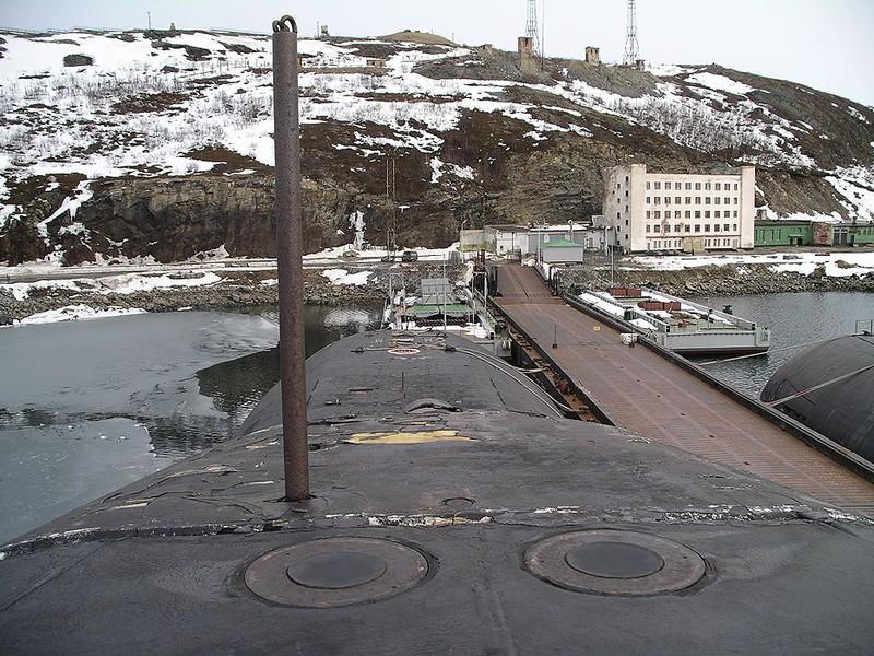 World's Biggest Submarine - Russian Submarine Typhoon 33