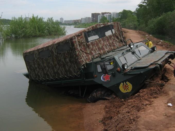 Sunken Armored Vehicle 3