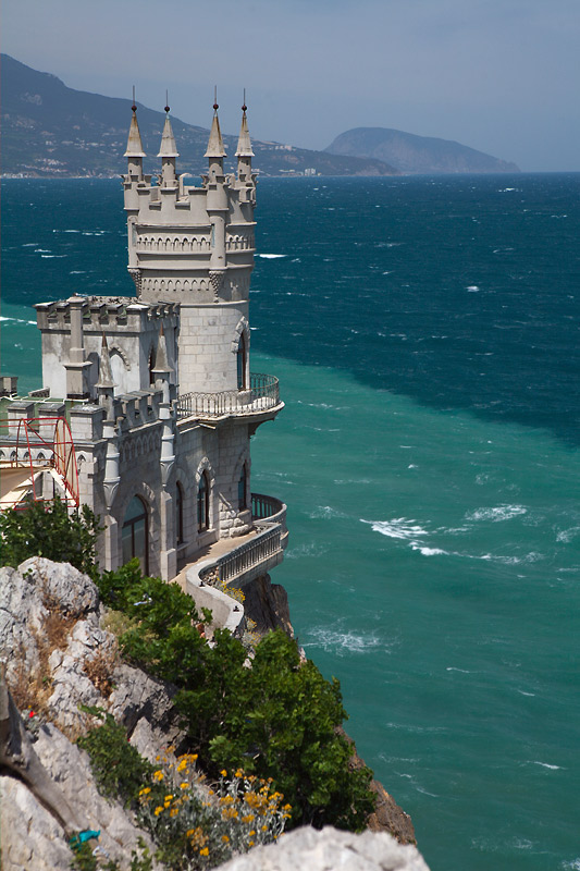 Swallow\'s Nest, the castle over the sea in Crimea  12