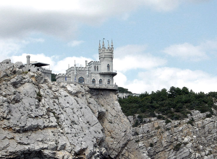 Swallow\'s Nest, the castle over the sea in Crimea  5