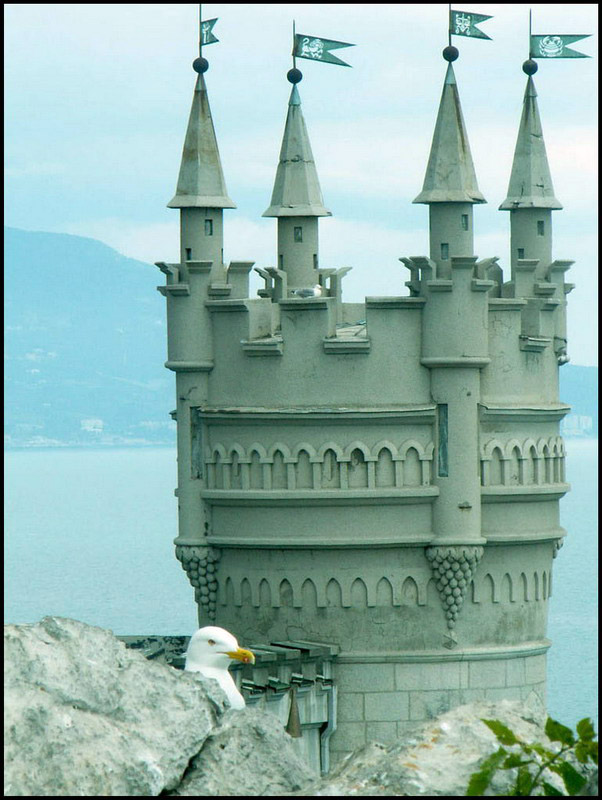 Swallow\'s Nest, the castle over the sea in Crimea  9