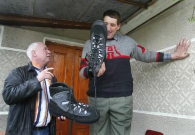 worlds tallest man from Ukraine 1