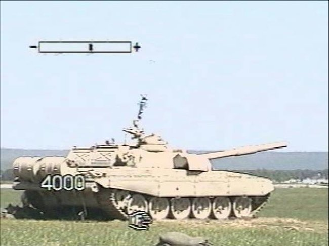 Russian tank and Russian missile 1