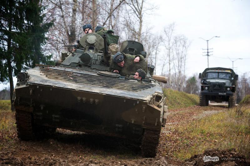 Tank Brigade Training 17