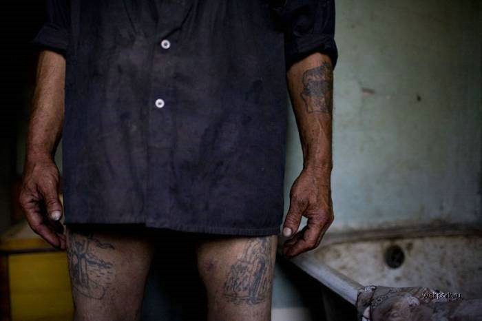 criminal tattoos in Russia 3