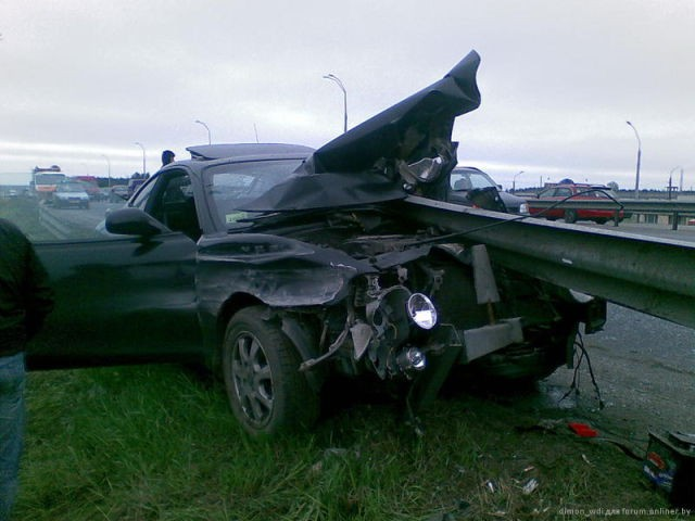 Terrible Accident near Minsk 3