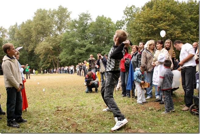 The 8th Mobile Phones Throwing Championship in Belarus