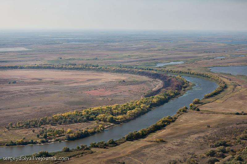 The Astrakhan Region From Above