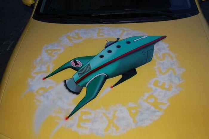 The Car of a Futurama Fan 10