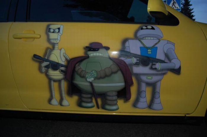 The Car of a Futurama Fan 12